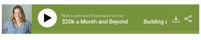 rosemarie groner side hustle show