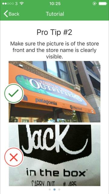 job spotter app tip