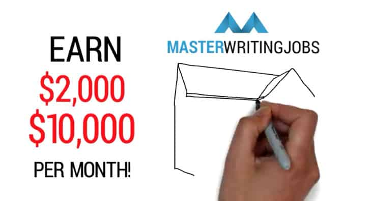 master writing jobs earnings