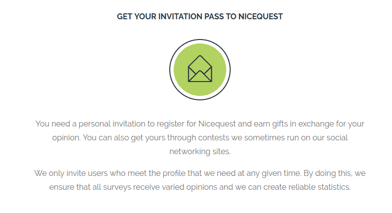 nicequest invitation