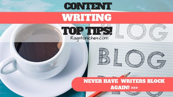 content writing tips never have writers block