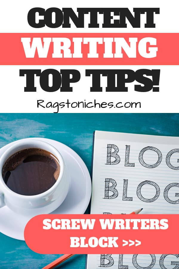 content writing tips avoid writers block