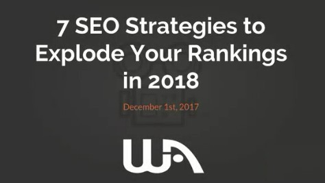 how to improve seo rankings in 2018