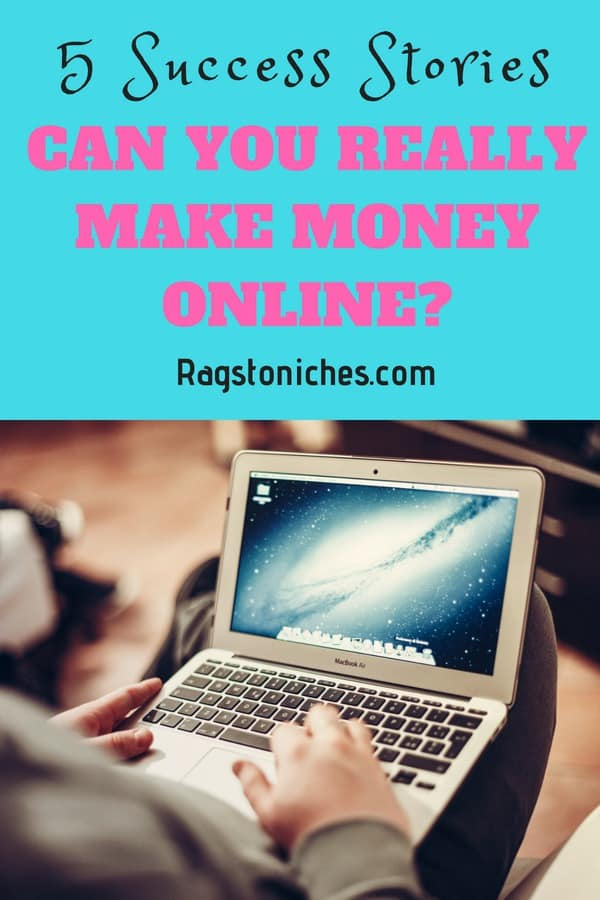 can you make money online