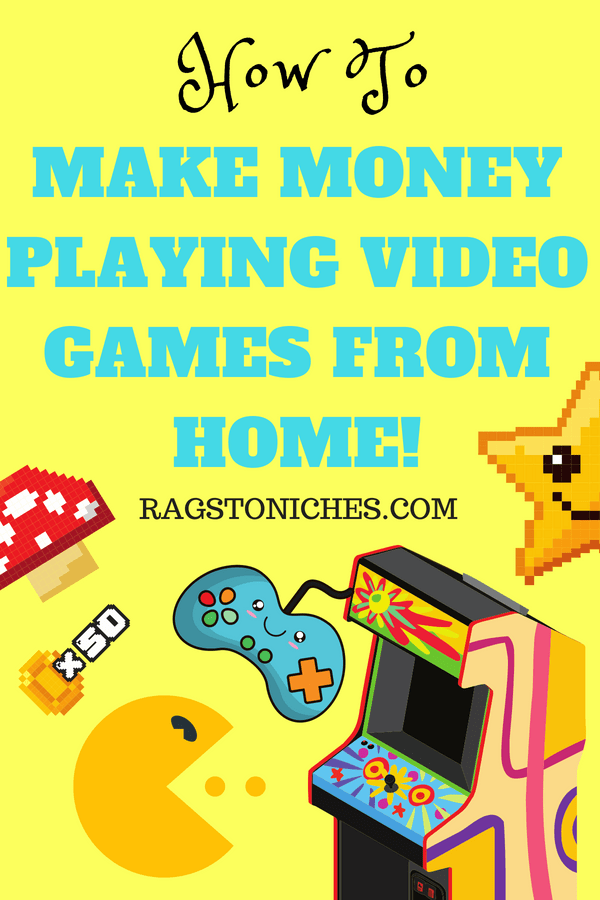 how to make money playing video games from home