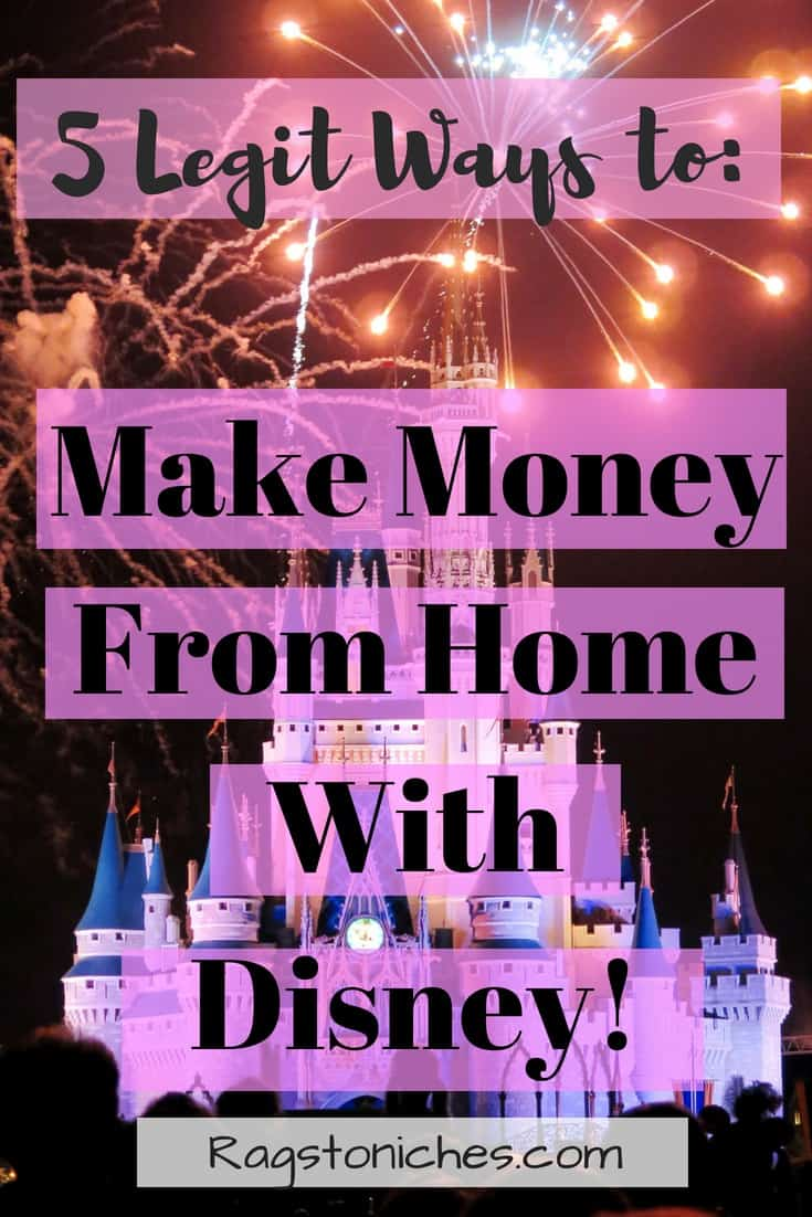 legit ways to make money from home with disney