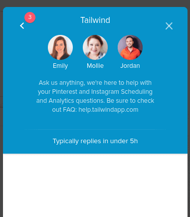 tailwind chat