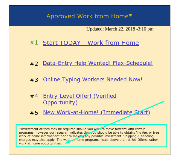 approved next job at home offers
