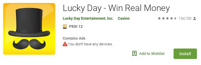 is lucky day app legit google play