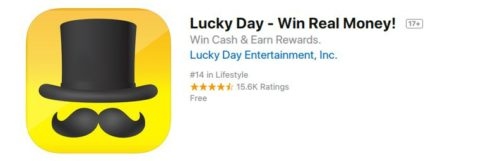 lucky day good review app store
