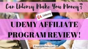 udemy affiliate program review make money