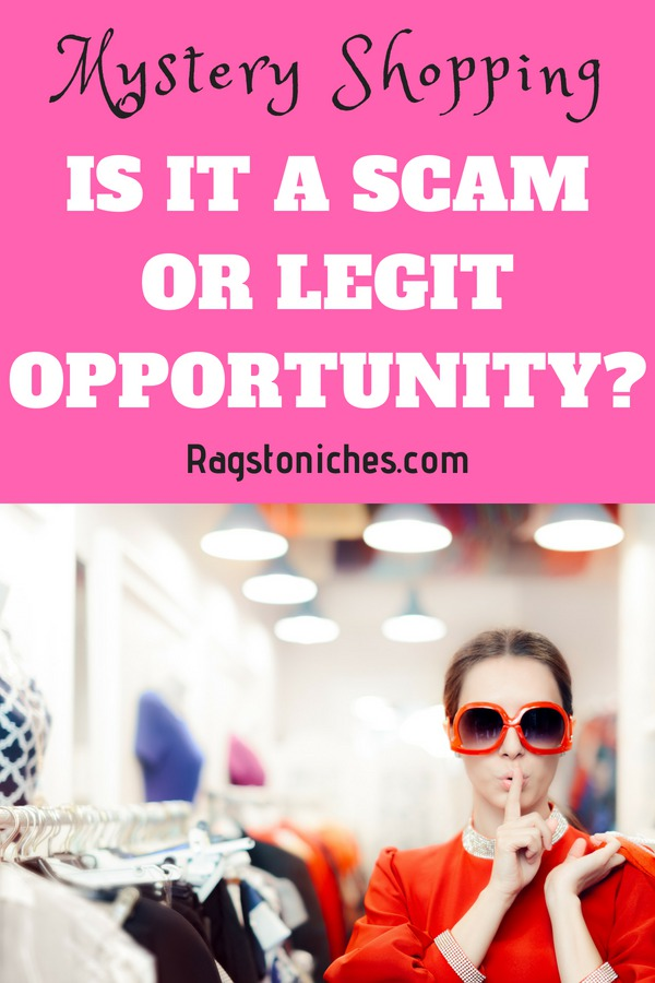 is mystery shopping a scam or legit