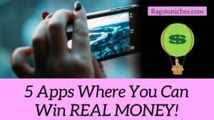 smartphone apps where you can win real money