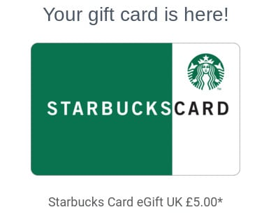 qmee starbucks gift card