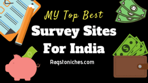 my best top survey sites for India