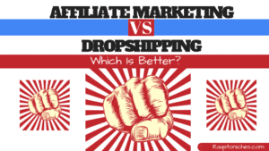 affiliate marketing vs dropshipping which is best for beginners