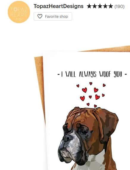 dog gift cards