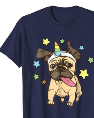 pugicorn shirt