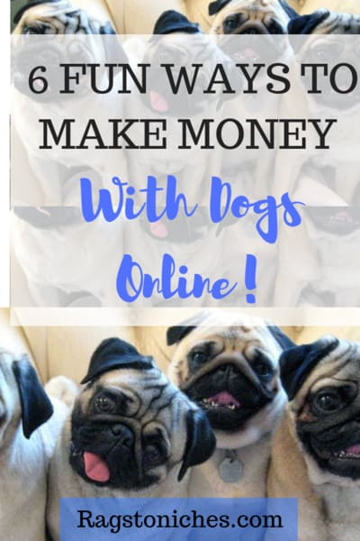 ways to make money from dogs online