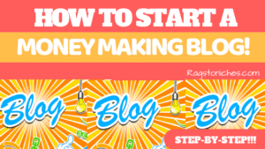 how to set up a money making blog ultimate guide