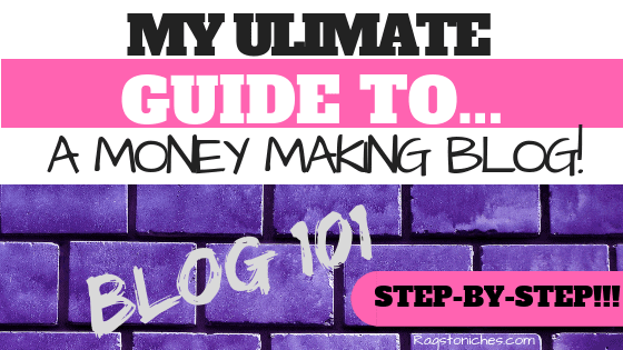 guide to setting up a blog that makes money