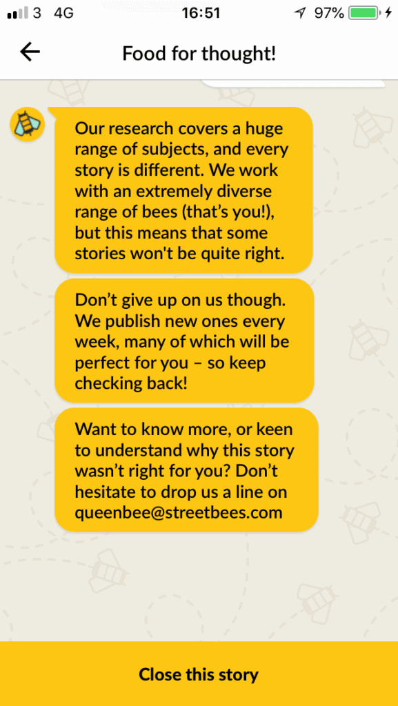 what is streetbees about