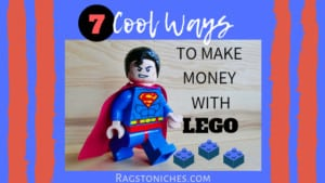7 ways to make money with lego