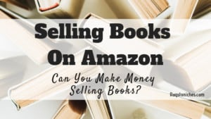 can you make money selling books on amazon