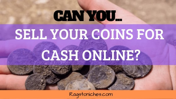 can you sell your coins for cash online
