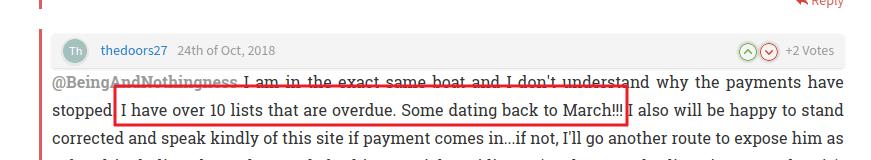 listverse overdue payment