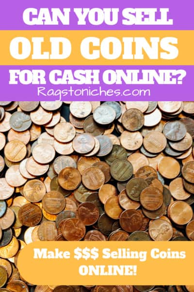 can you sell old coins for cash online
