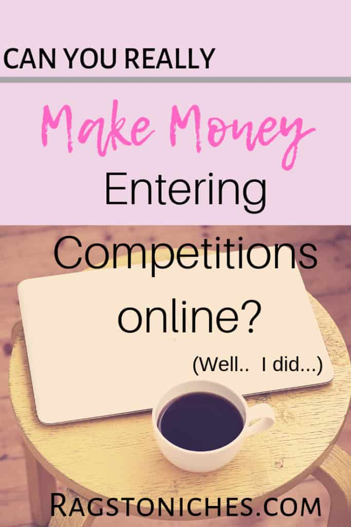 can you make money entering competitions online and sweepstakes