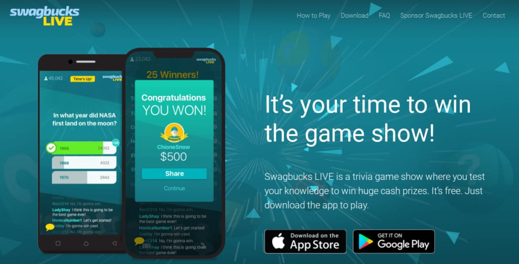 Swagbucks LIVE review win cash