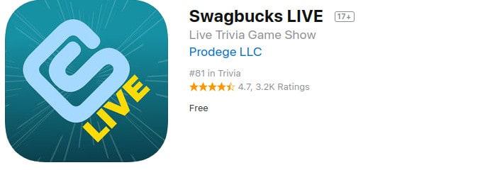 swagbucks live appstore