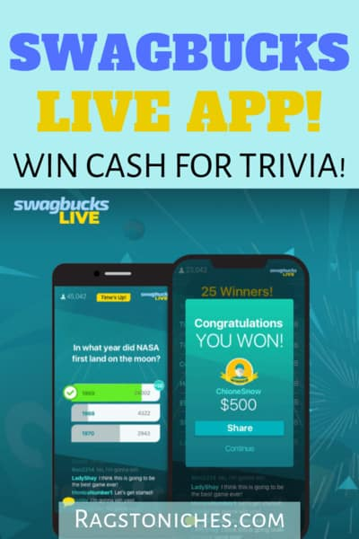 Swagbucks LIVE Review: Win Cash For Trivia!