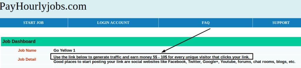 Payhourlyjobs.com link posting scam