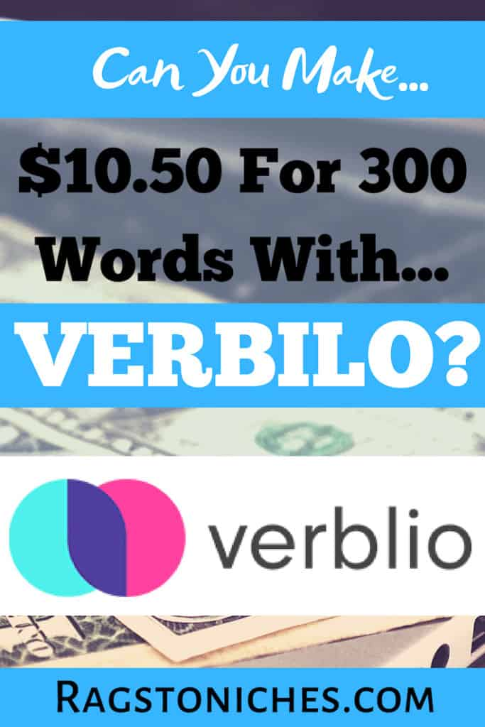 Verbilo Review: Legit Or Scam?  Can you  get paid to write online?
