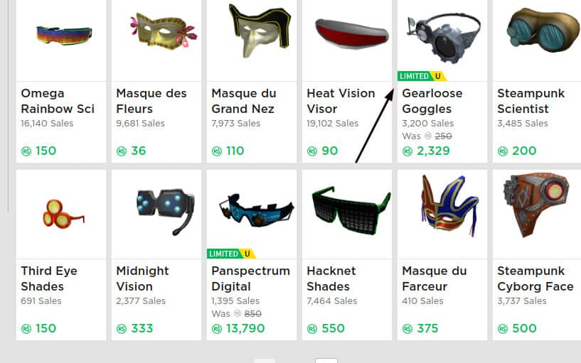 roblox trading items