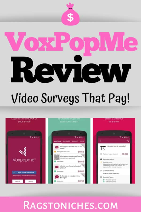 Voxpopmerevew video surveys that pay