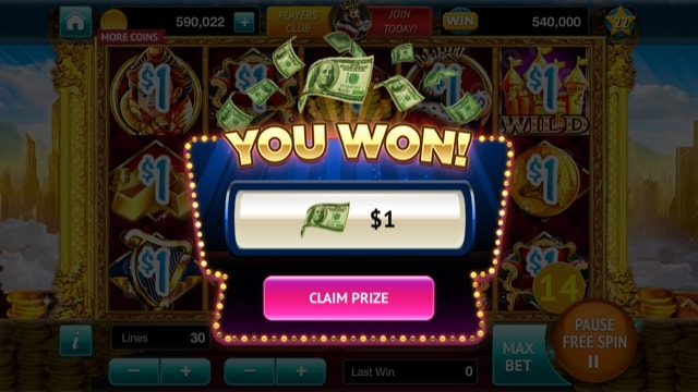 Cash win on spintowin $1