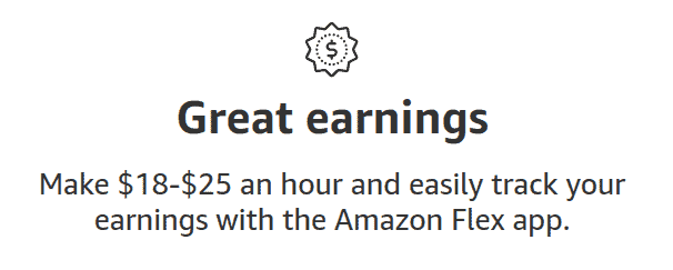 How much can you earn with Amazon Flex