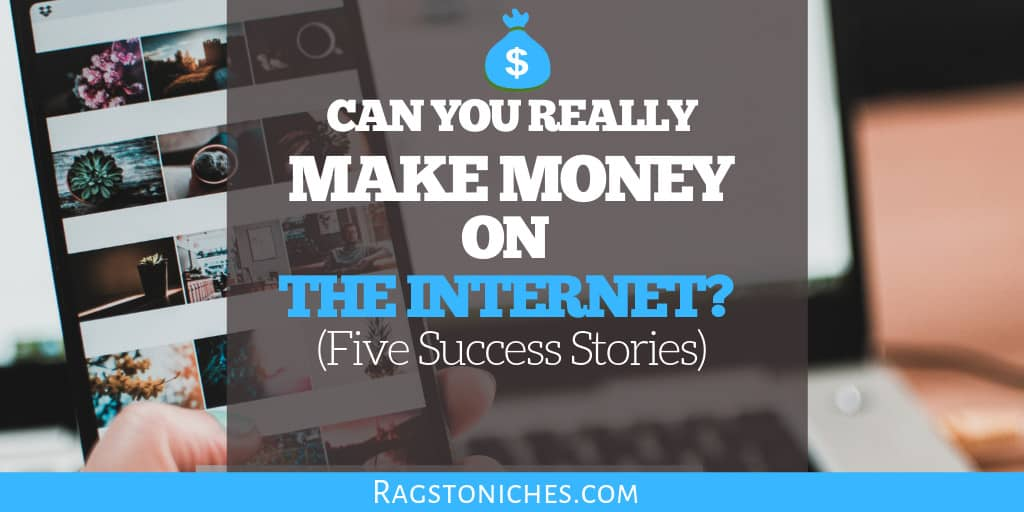 can you really make money on the internet
