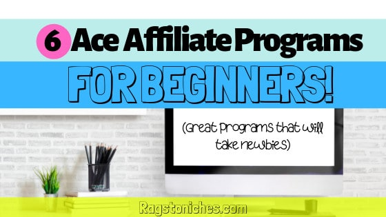 what are the best affiliate programs for beginners?