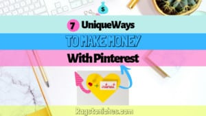 unique ways to make money with pinterest