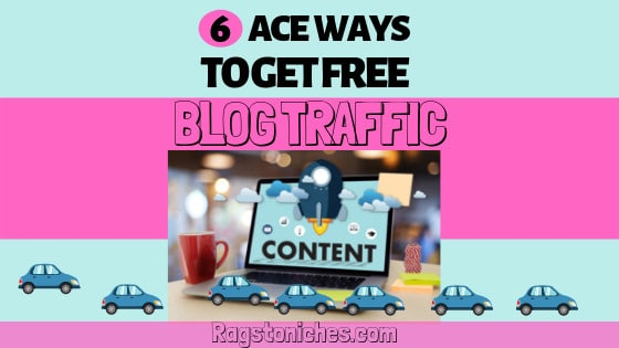 How to get free traffic to your blog or website!