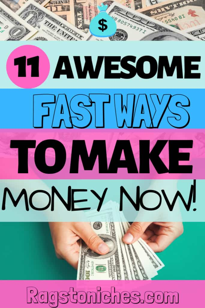 How to make money fast online quickly!