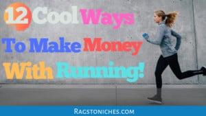 ways to make money with running