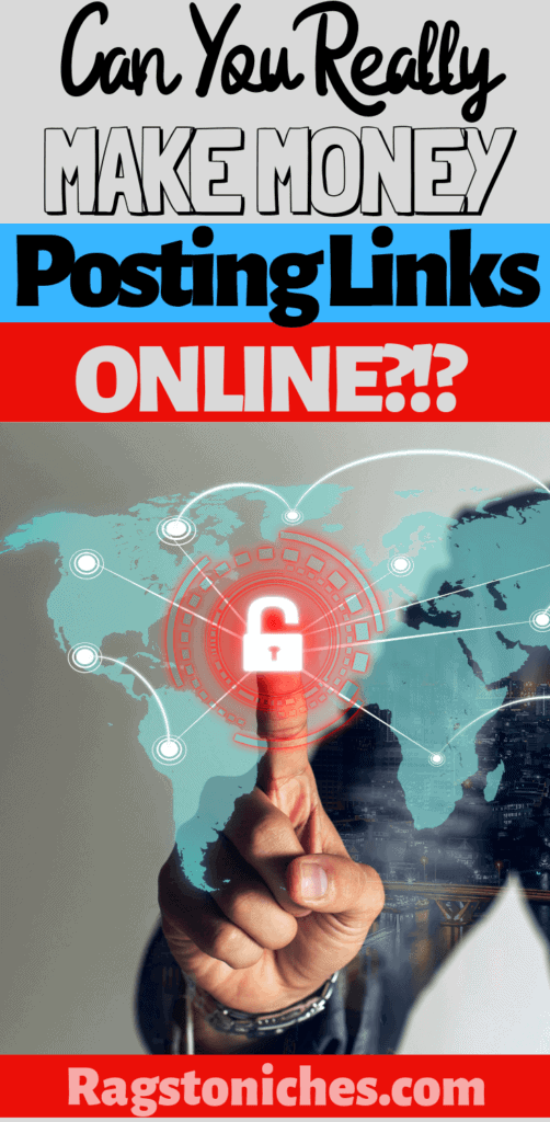 Can you make money posting links online?