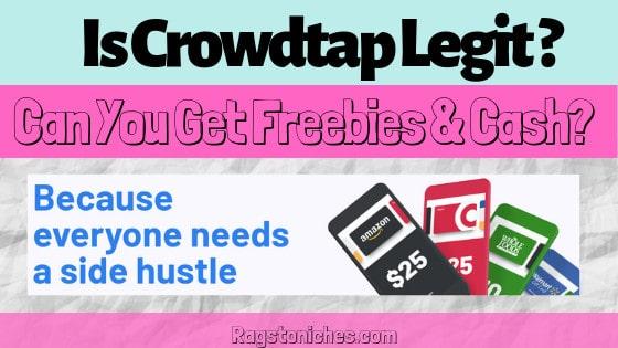 Is crowdtap legit crowdtap review