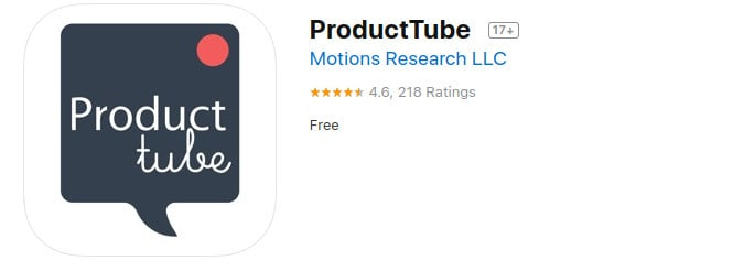 ProductTube review Appstore